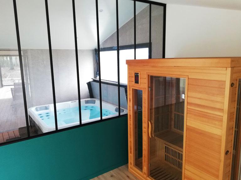 spa et sauna du gite