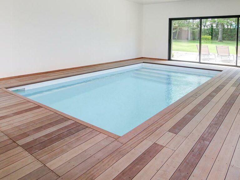 piscine intérieure privée